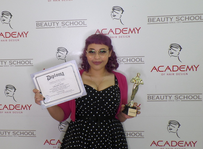 Alexis S. - COSMETOLOGY Graduate 07/15/2020